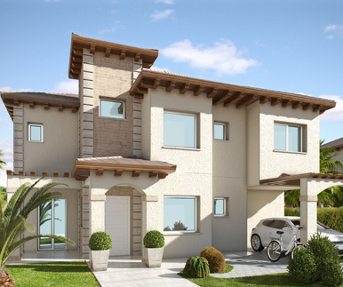 luxury villas - at playa del carabassi